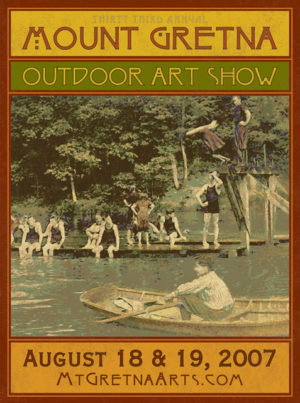 2007 Show Poster | Mount Gretna Outdoor Art Show