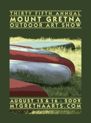 2009 Show Poster | Mount Gretna Outdoor Art Show