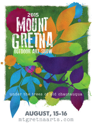 2015 Show Poster | Mount Gretna Outdoor Art Show