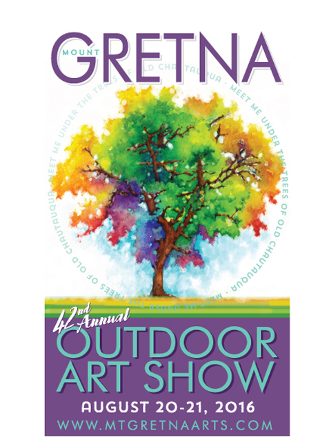 2016 Show Poster | Mount Gretna Outdoor Art Show