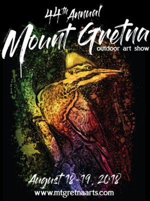 2018 Show Poster | Mount Gretna Outdoor Art Show