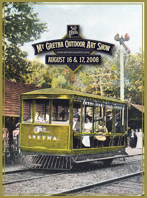 2008 Show Poster | Mount Gretna Outdoor Art Show