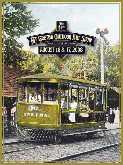 2008 Show Poster | Mount Gretna Outdoor Art Show