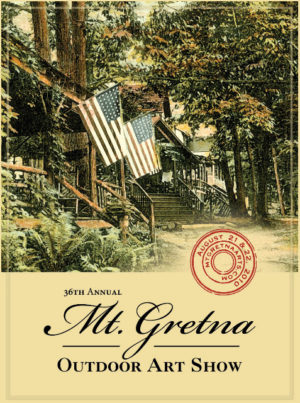 2010 Show Poster | Mount Gretna Outdoor Art Show