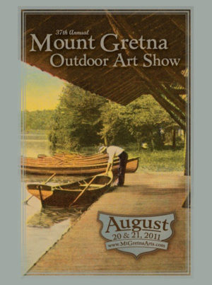 2011 Show Poster | Mount Gretna Outdoor Art Show