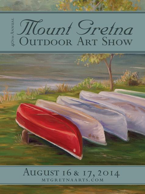 2014 Show Poster | Mount Gretna Outdoor Art Show