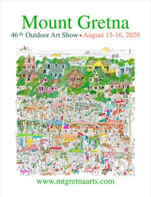 2020 Show Poster | Mount Gretna Outdoor Art Show