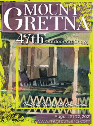 2021 Show Poster | Mount Gretna Outdoor Art Show